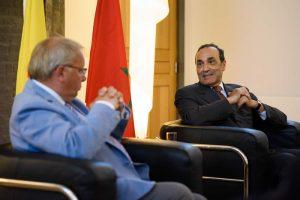 Visite du Président de la Chambre des Représentants du Royaume du Maroc