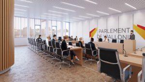 Une salle de commission