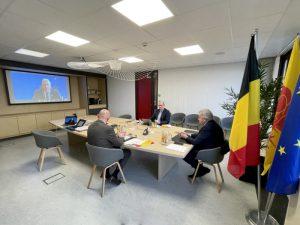 Entretien entre le Président du Parlement de Wallonie et le Président de l'Assemblée nationale du Québec