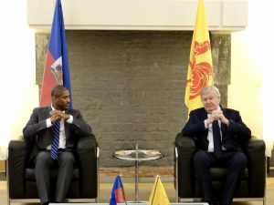 Visite de S.E. M. l'Ambassadeur d'Haïti